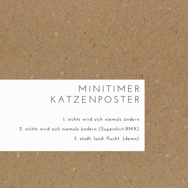 LOCAL MAG - Minitimer Katzenposter – Nichts wird sich niemals ändern