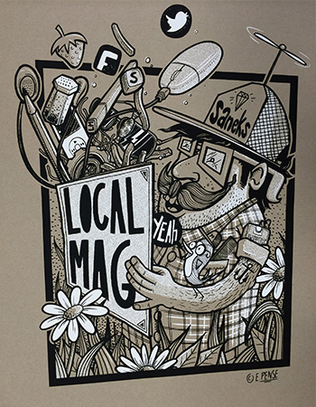 LOCAL MAG - LOCAL MAG Poster 2014